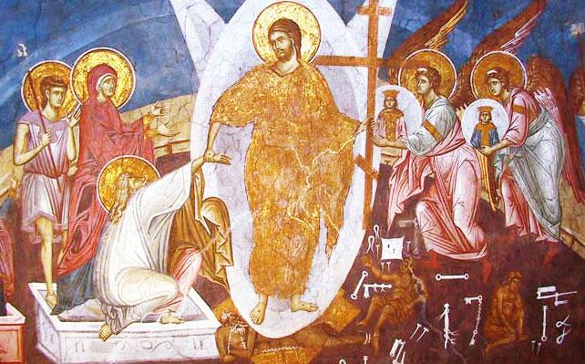 Invierea lui Hristos - Slava Sfintei Cruci